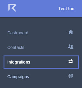 The Integrations icon